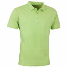 Callaway Mens Pique Polos Green Large