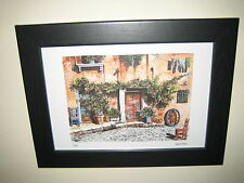 4 Stunning Pictures of Rome Architecture (8x12) in Beautiful Black frames