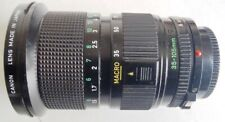 Canon FD 35-105mm f/3.5 Macro Manual Focus Zoom Lens