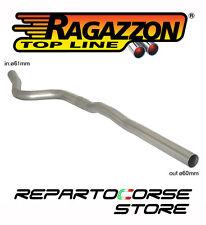 RAGAZZON TUBO CENTRALE NO SILENZIATORE BMW SERIE 1 E87 123d 150kW 5 PORTE 07->