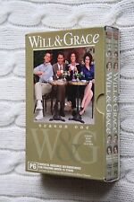 Will and Grace Season one (DVD, 4-Disc bundle pack), Region-4, Like new