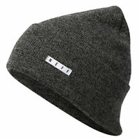Neff Men's Lawrence Beanie Black Heather Headwear Cold Snow Winter