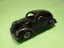 LION CAR VW VOLKSWAGEN BEETLE - OVAL WINDOW - BLACK 1:42 - GOOD CONDITION