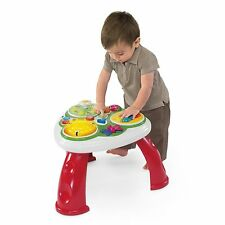 Neuf chicco talking garden activity table langues musique apprentissage ** fab!