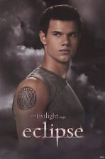 TWILIGHT ECLIPSE ~ JACOB SIGIL TATTOO ~ 24x36 MOVIE POSTER ~ Taylor Lautner Saga