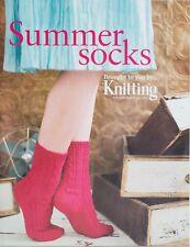 Summer Socks Knitting Pattern Magazine Supplement July 2011