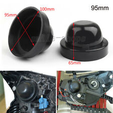2pcs 95mm Rubber Housing Seal Dust Cap Protect Cover For LED HID Headlight Bulb