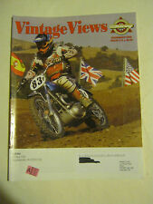 November 2006 issue 212 Vintage Views AHRMA Magazine  (BD-40)