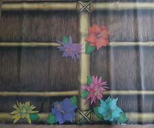amscan 3x Wand-Deko Hawaii 0,45 × 12m Party Dekoration Sichtschutz Poolparty NEU