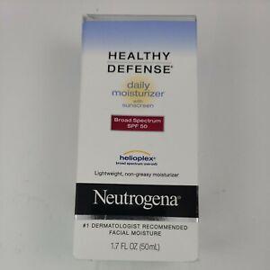 Neutrogena Healthy Defense Daily Moisturizer w/Sunscreen SPF 50  EXP:01/2022