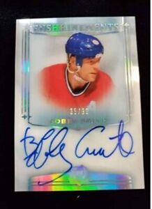 2019-20 UD The Cup Enshrinements Auto Bobby Smith 35/99 SP! Canadiens PACK FRESH