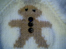 Christmas Gingerbread Man Sweater Handmade for 16 inch Cabbage Patch Kid Doll
