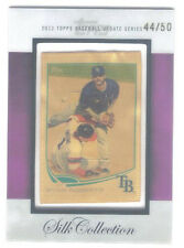 2013 TOPPS UPDATE SILK COLLECTION #/50 RYAN ROBERTS TAMPA BAY RAYS - MINT