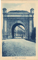 57 - cpa - METZ - La porte Serpenoise