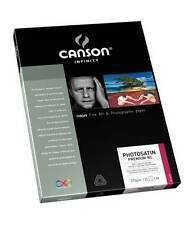 PAPER INKJET CANSON PHOTOGRAPHY SATIN 25 SHEETS A3 270 GRAMS NEW