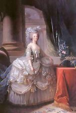 Marie Antoinette~counted cross stitch pattern #623~Fine Art People Royalty Chart