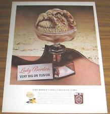1963 Vintage Ad~Lady Borden Vanilla Chocolate Fudge Ice Cream