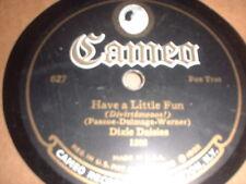 78RPM Cameo 627 Dixie Daisies, Have a Little Fun E-/Bob Haring, Because th E- E