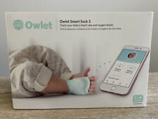 Owlet Smart Sock 2 Baby Monitor - Working Great and Super Clean