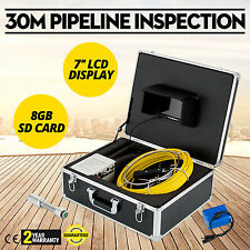 30m Pipeline Inspection Camera Sewer Waterproof 7