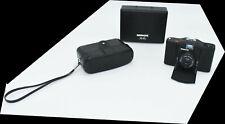 Minox EL35~Miniature Camera 2.8 Lens~Tested~Leather Case, Box, Manual~NewBattery