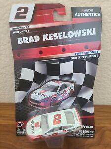 2018 Wave 1 Brad Keselowski Wurth 1/64 NASCAR Authentics Diecast MIP