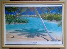 Dan Mackin 2006 SunFest Commemorative Limited Edition Signed Print