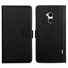 Matte Leather Mobile Phone Cases, Covers & Skins for HTC with Card Pocket