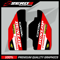 HONDA CR 85 03 - 08 CRF 150 08 - 019 LOWER FORK MOTOCROSS GRAPHICS MX DECAL TI