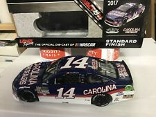 Autographed Clint Bowyer 2017 Darlington  Throwback Action #14 Carolina Ford
