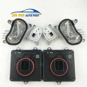 6X Full LED Headlight 16-18 BMW 4'F32 Main module&Signal and DRL LED module L&R