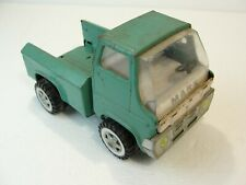 1968 Louis Marx Toy Pick Up Truck Steel  Blue/ Green Vintage Toy Vehicle