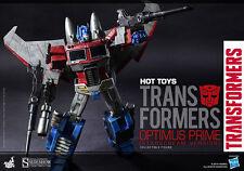 Sideshow Hot Toys 30cm Optimus Prime Starscream Version Transformer Figure TF001