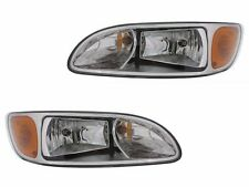 00-15 Peterbilt Truck 330 325 335 340 348 384 386 387 Head Light Lamp - PAIR SET