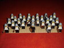 Lego 27 Ritter Castle Knights Figuren schwarz/weiß Sammlung Paket C246