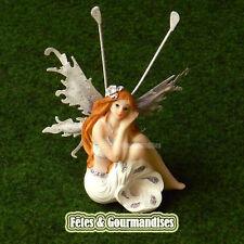 Fee fairy ailes metal couleur blanche pour communion, anniversaire, dragees