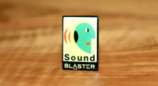 Sound Blaster Computing platform Old Vintage Collectible Promo Pin / Badge