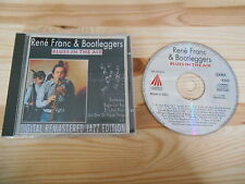 CD Jazz rene franc/Bootleggers-Blues in the Air (10 chanson) pastels