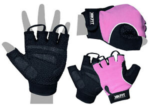 Ladies Cycling Gloves Half Finger Bicycle Gel Padded Fingerless Bike Riding BMX