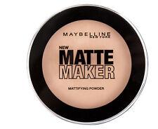 Maybelline Matte Maker All-Day Matte Face Powder Makeup, 50 Sun Beige 16g Carded