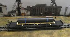 H0 Ladegut Stahlrohr 2  z.B. für Flachwagen  (11)