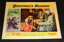 1958 Quantrill's Raider Lobby Card 58/164 #1 Steve Cochran (C-4)