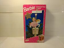 Barbie Carousel Tree Topper 1997 Mr. Christmas Decoration NO AC Adapter  ch525