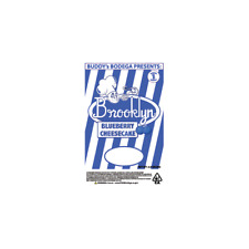 Blueberry Cheesecake Cali Tin Labels Mylar Bag Stickers