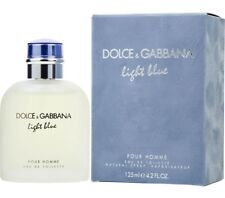 D&G Light Blue for Men by Dolce & Gabbana Eau de Toilette 4.2 OZ