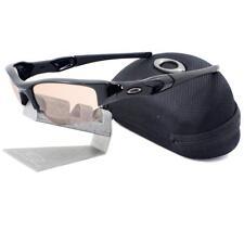 Oakley OO 9009-05 TRANSITIONS FLAK JACKET XLJ Polished Black VR50 Men Sunglasses