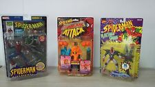 Toy Biz Marvel LOT OF 3 SPIDERMAN EDITIONS - 2 SPIDERMAN - 1 HOBGOBLIN