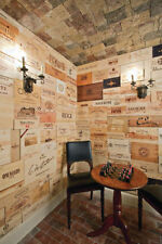 80 Assorted & Branded Wine Panels From Crates (Wine Box) Sides/Ends/Tops Wood