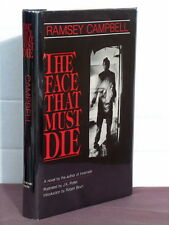 1st,3 signatures(author,artist,intro),Face That Must Die by Ramsey Campbell(1983