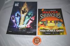 Rare Loot Crate Issue 26 September 2015 Magazine & Pin Back Button Summon Issue!
